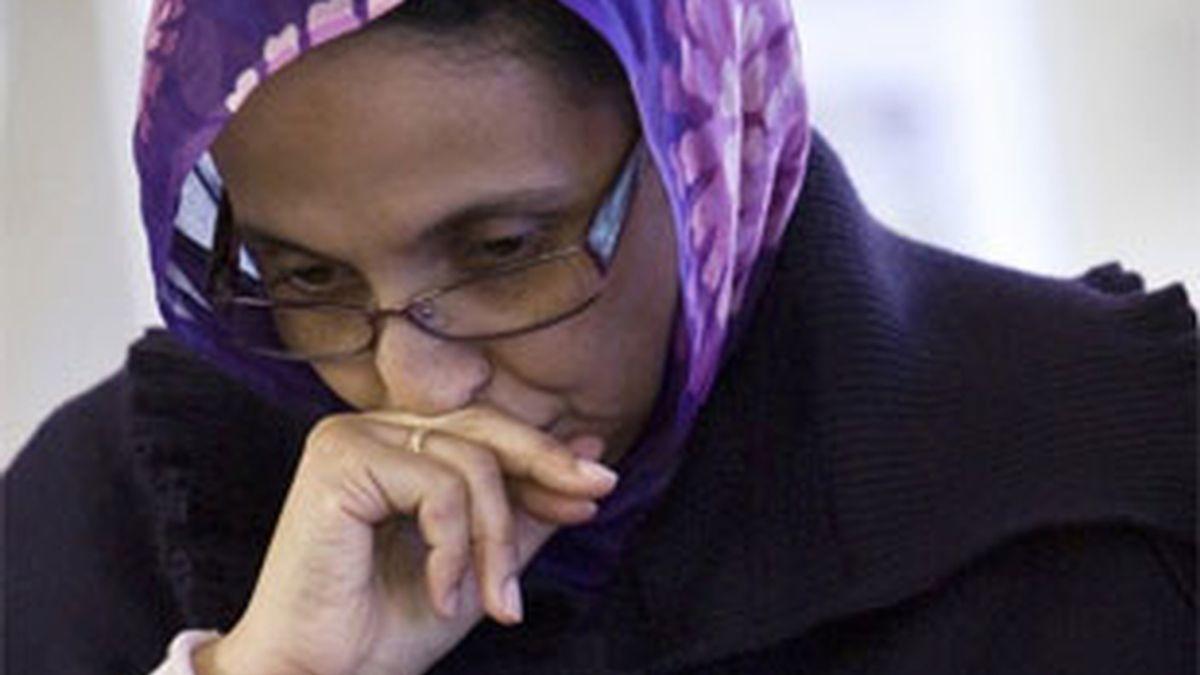 Haidar lleva 18 día en huelga de hambre en el aeropuerto de Lanzarote. Foto: Reuters.