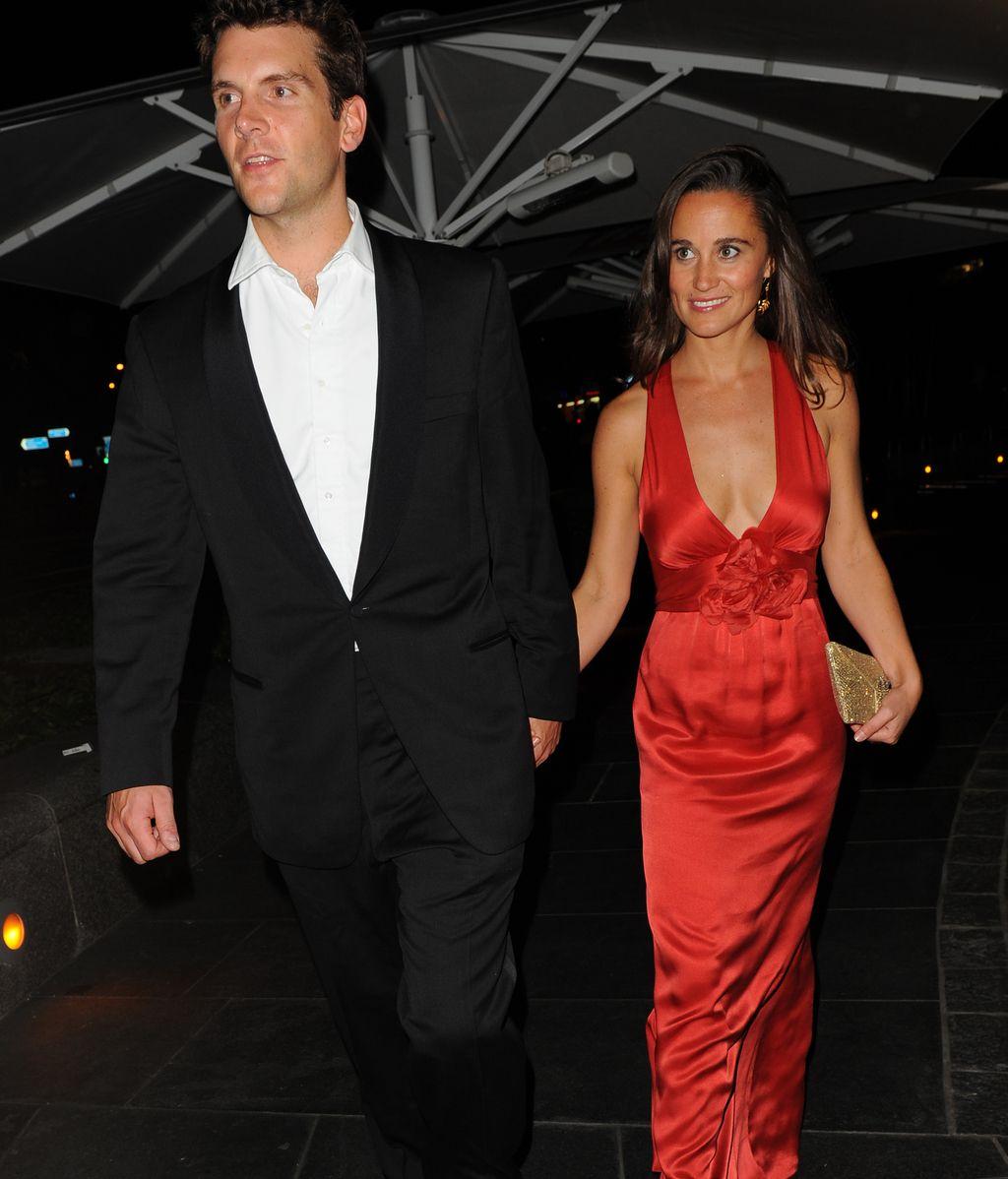 Pippa Middleton y Alex Loudon en una de sus últimas apariciones juntos