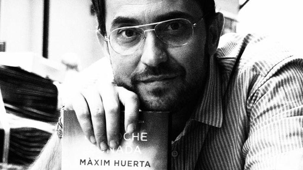 Máxim Huerta, en blanco y negro