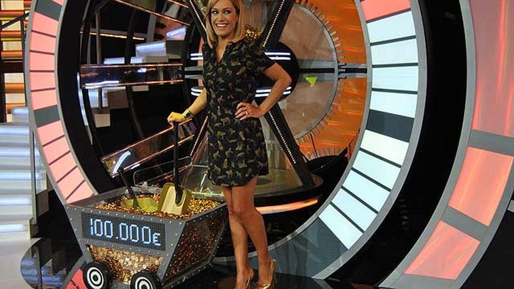 La presentadora vuelve a ponerse al frente de un concurso
