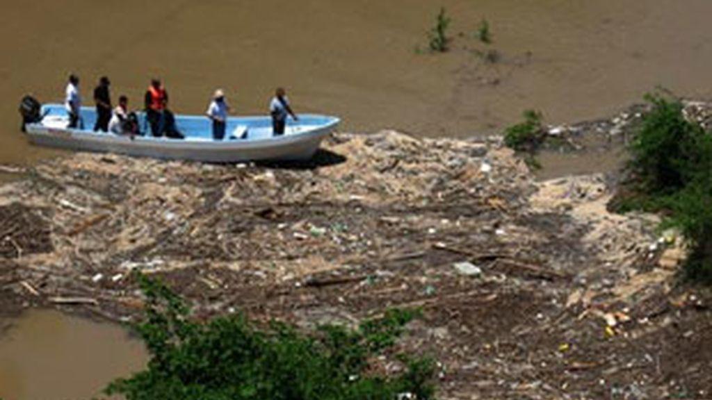 El tercer cuerpo recuperado en México es el de Irene Carbó. Foto: EFE.