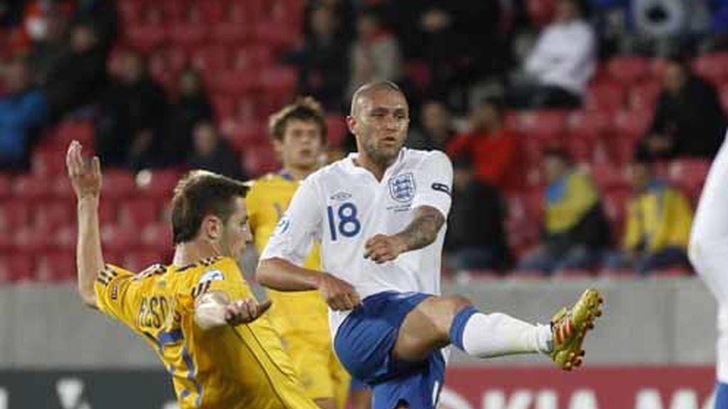 Inglaterra y Ucrania no pasaron del empate a cero