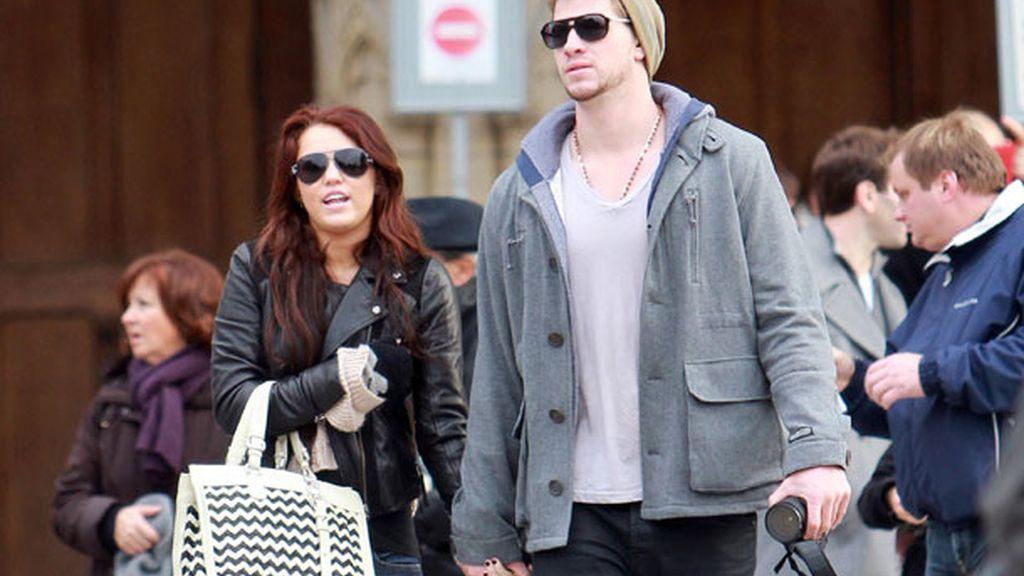 La relación de Miley y Liam, una historia de idas y venidas