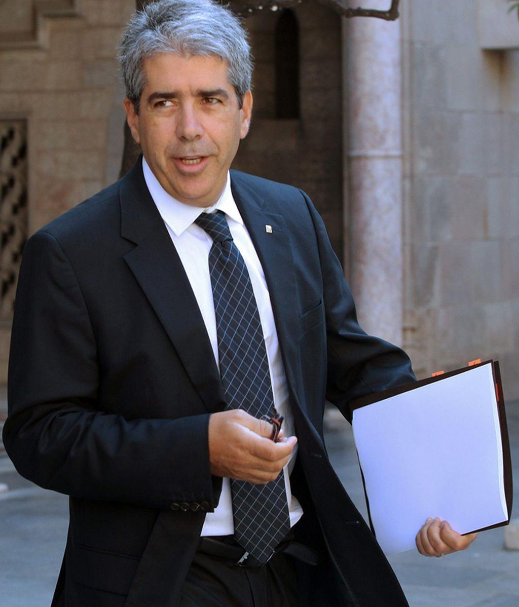 Francesc Homs, conseller de la Presidencia de la Generalitat de Cataluña