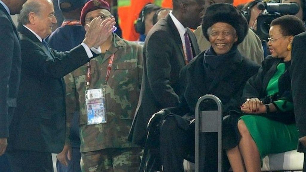 Sonrisas y lágrimas en Johannesburgo