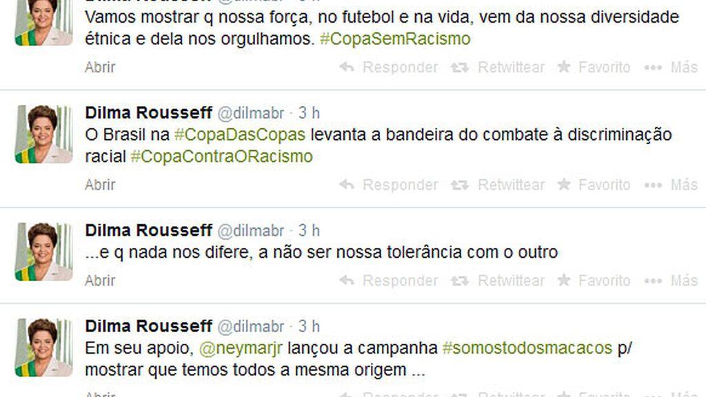 Dilma twitter