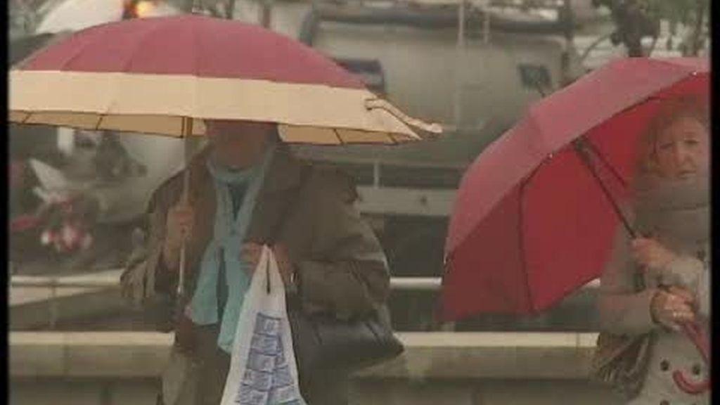 Frío y lluvia en toda España