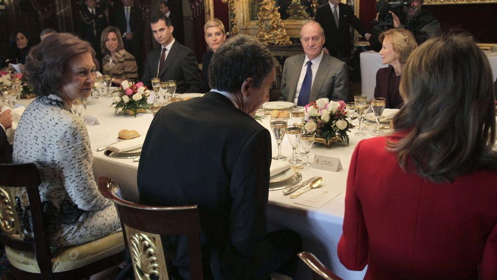 Almuerzo de los Reyes con el Gobierno en funciones