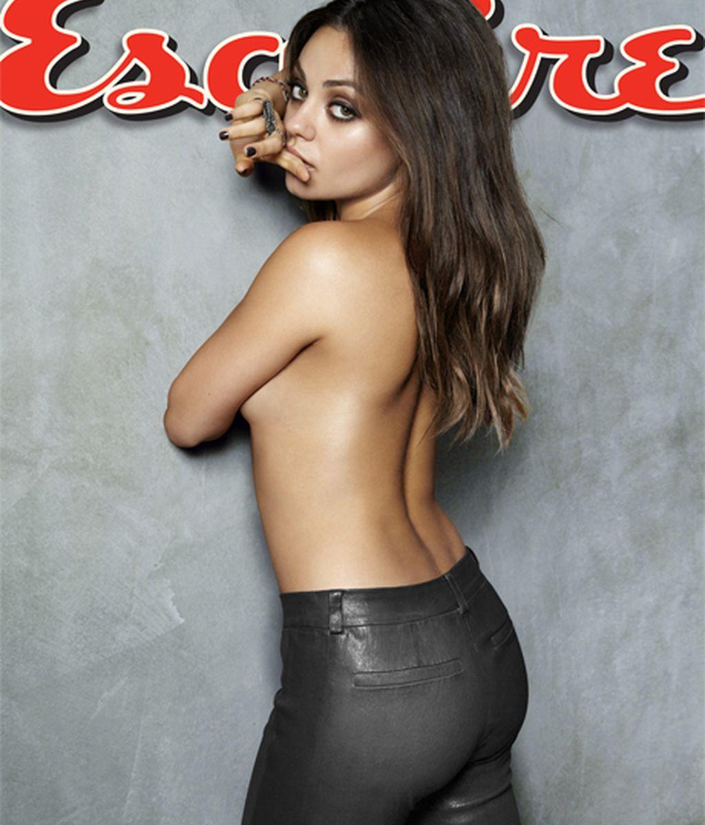 """Mila Kunis coronada como """"La mujer más sexy"""""""