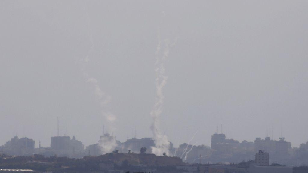 Hamás lanza varios cohetes contra israel desde Gaza