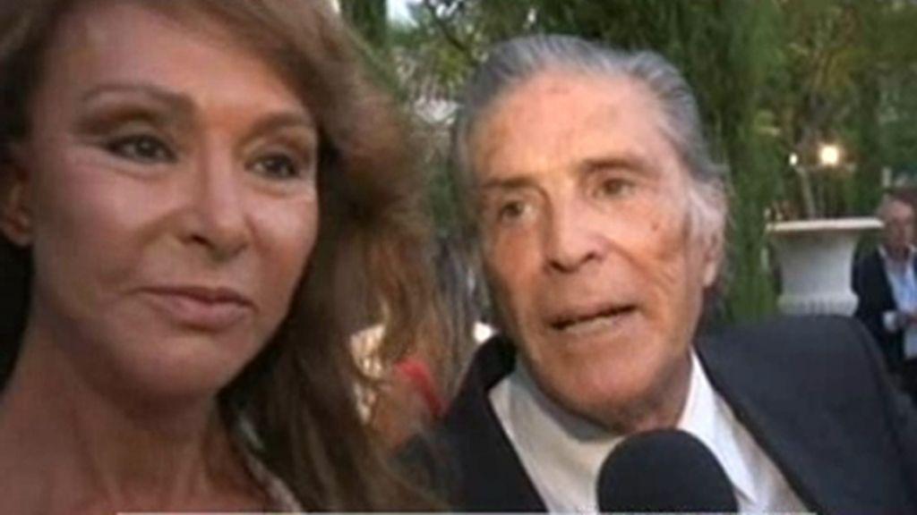 Beatriz Trapote, de fiesta con su suegra