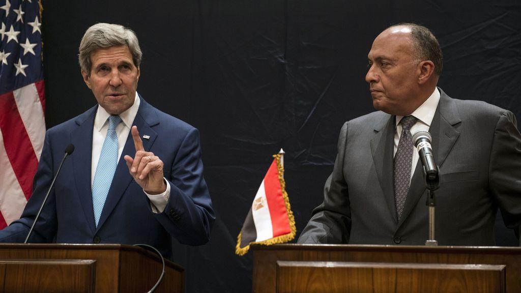 Kerry en El Cairo