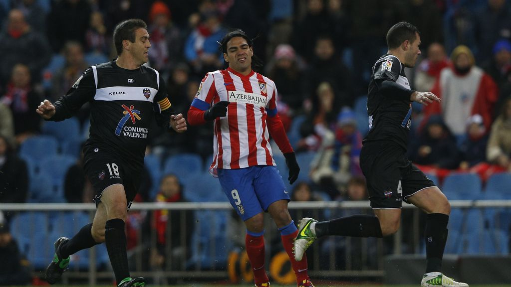 Falcao, Atletico de Madrid