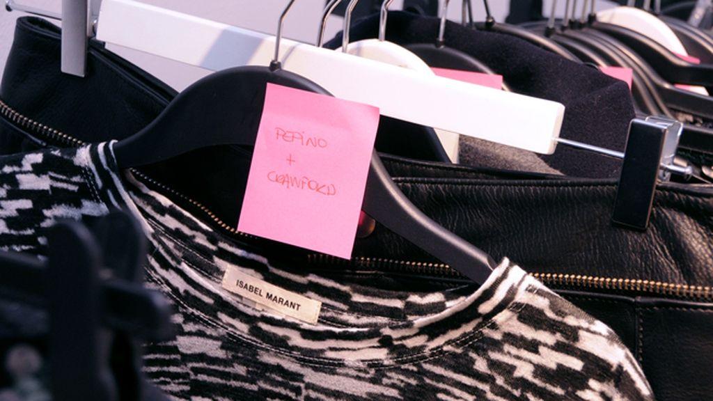 Nos hizo mucha ilusión ver nuestra ropa etiquetada colgando entre los looks de las celebrities