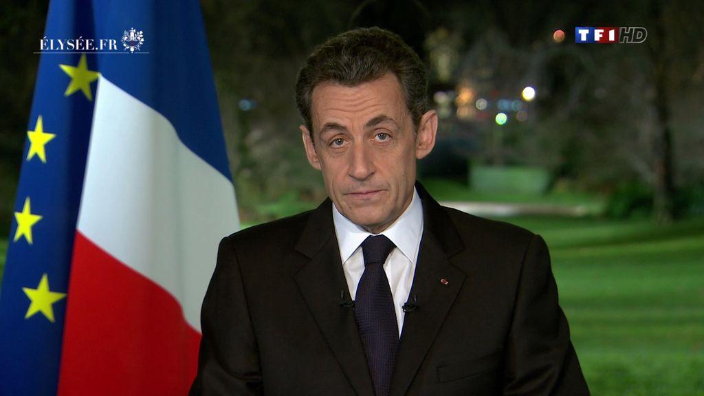 Nicolas Sarkozy promete que no habrá más recortes en Francia