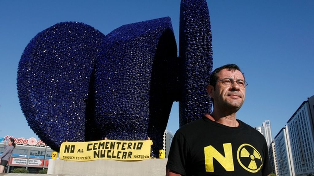 Protestas en Valencia por el almacén nuclear