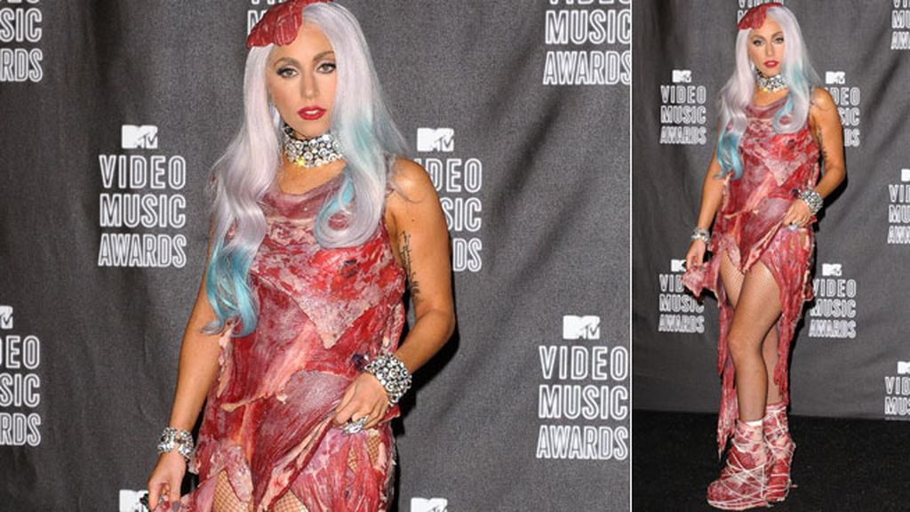 Lady Gaga, una relación de desencuentros desde su vestido de carne