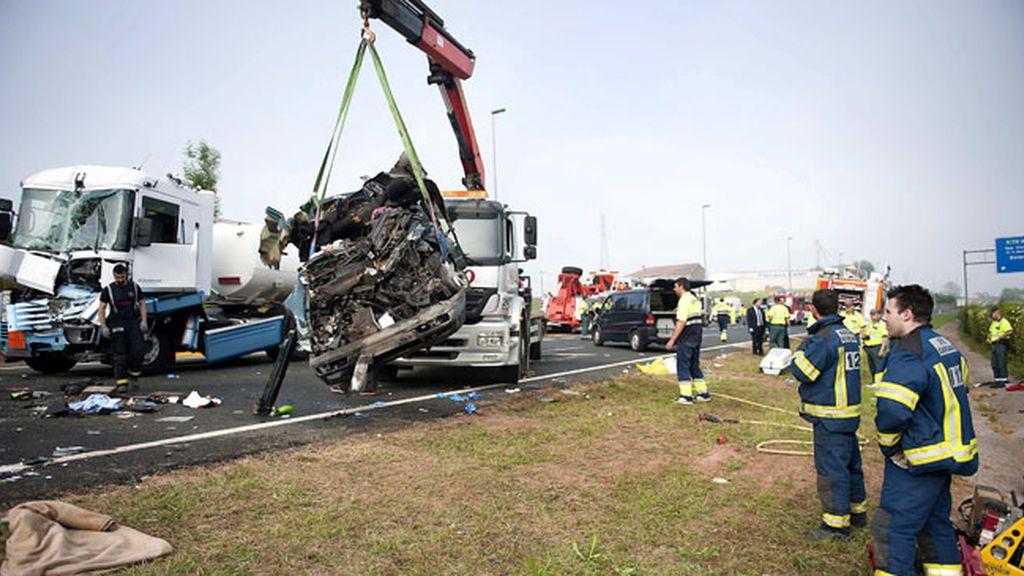 El fin de semana deja un total de 14 fallecidos en las carreteras