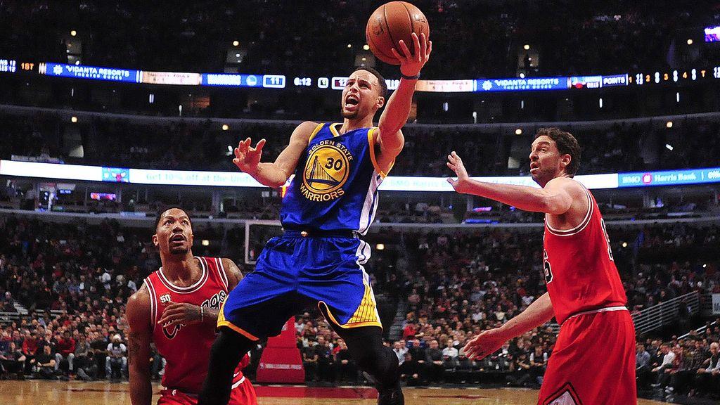 Curry destroza a los Bulls en la peor noche NBA de Pau Gasol (21/01/2016)