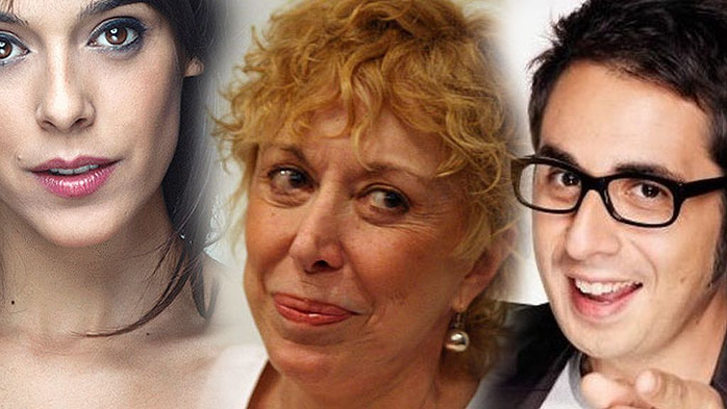 Berto Romero, Rosa. Mª Sardà y Belén Cuesta