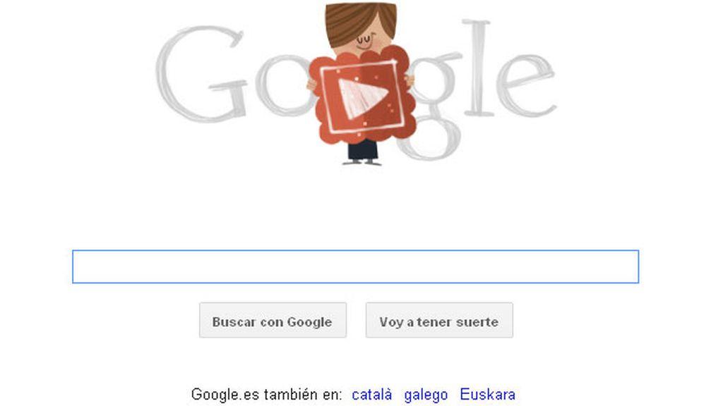 Google celebra el Día de San Valentín con un nuevo doodle