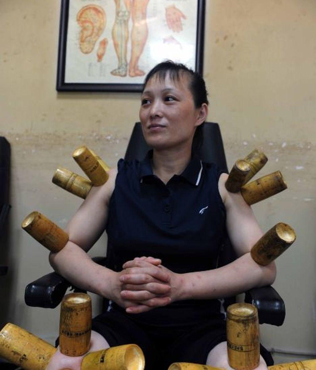 Tratamientos térmicos en una oficina de Beijing