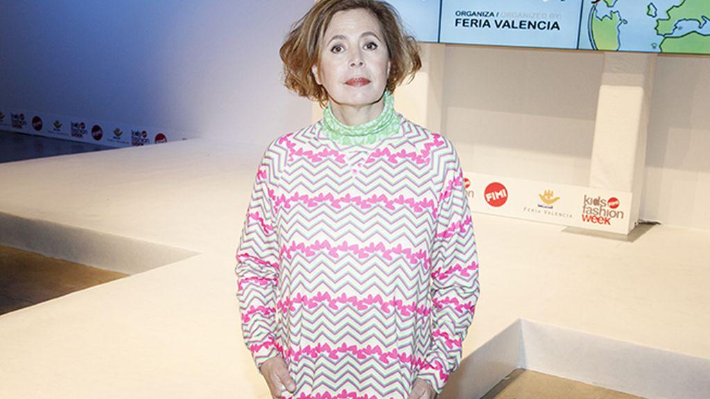 Ágatha Ruiz de la Prada también presentó su fantástica nueva colección infantil en FIMI