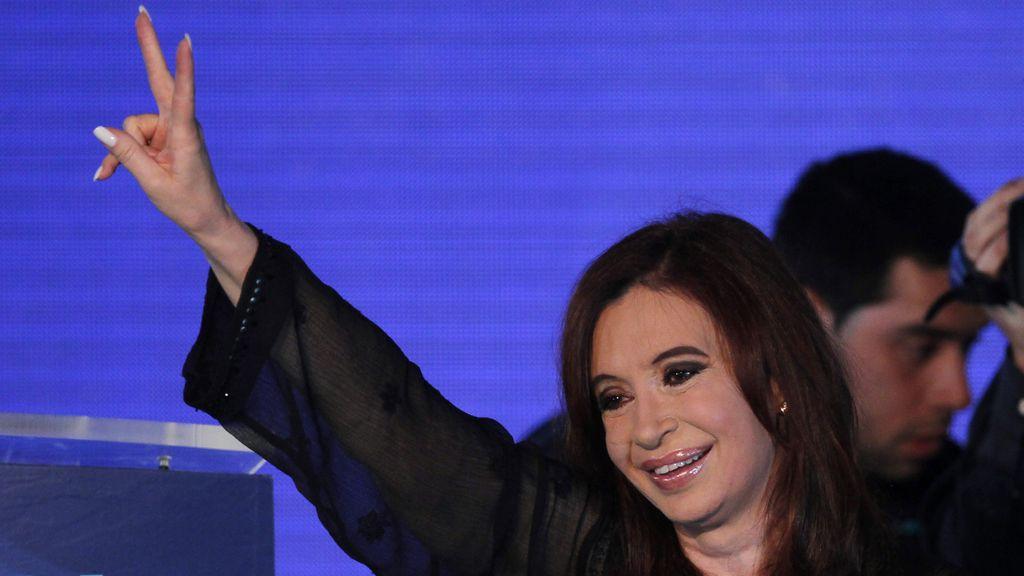 Cristina Fernández arrasa en las presidenciales argentinas
