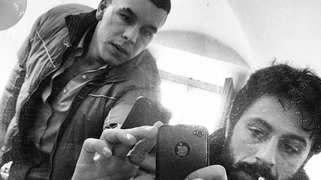 Autofoto en el espejo