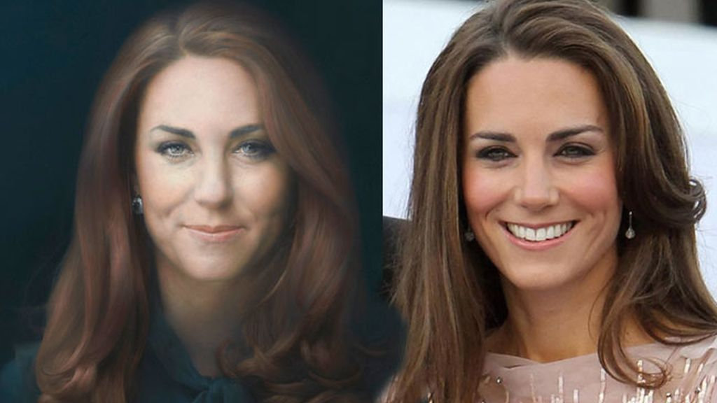 "El ""retrato podrido"" de Kate Middleton"
