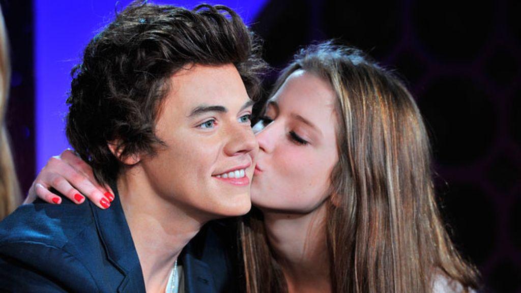 El cantante Harry Styles, el más deseado y besado por las fans