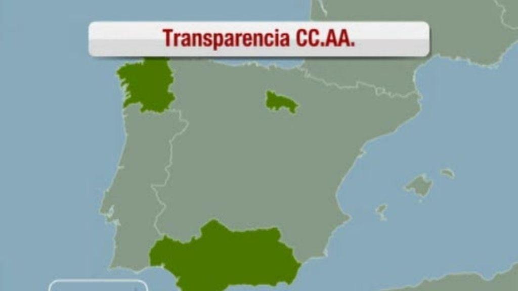 La transparencia de las Comunidades Autónomas