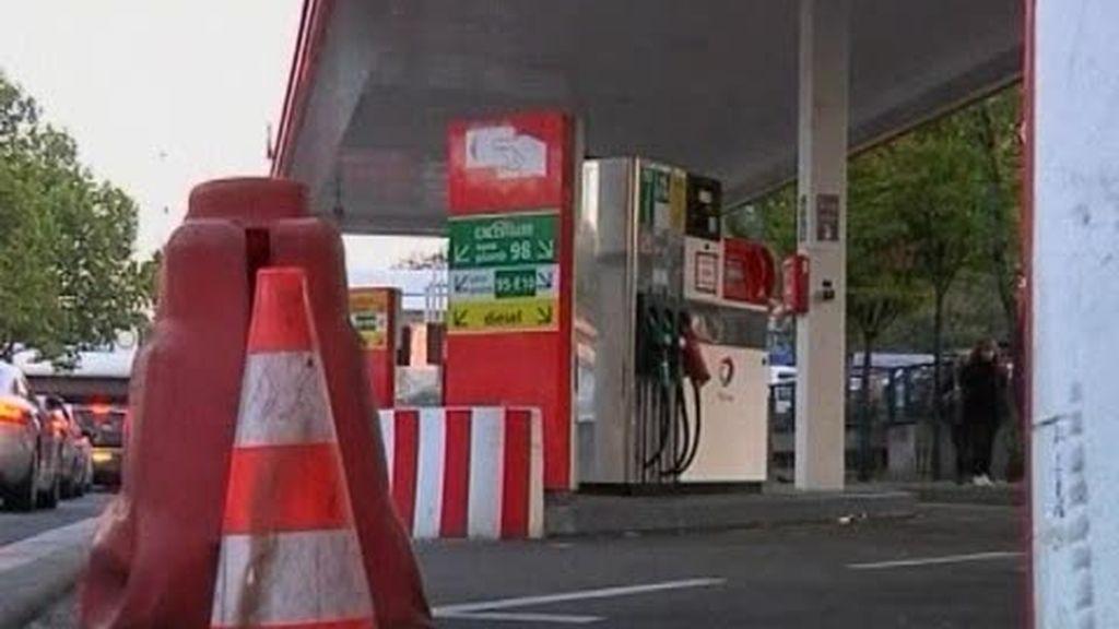 La huelga de Francia deja ya gasolineras desabastecidas
