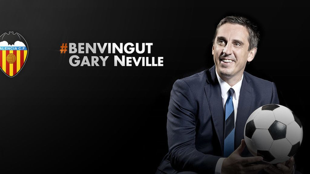 Gary Neville, Valencia, Nuno
