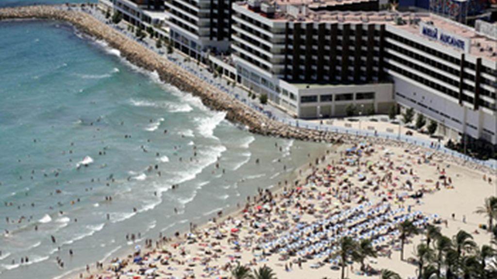 La llegada de turistas aumenta en julio un 4,5 por ciento, la mayor subida desde mayo de 2008