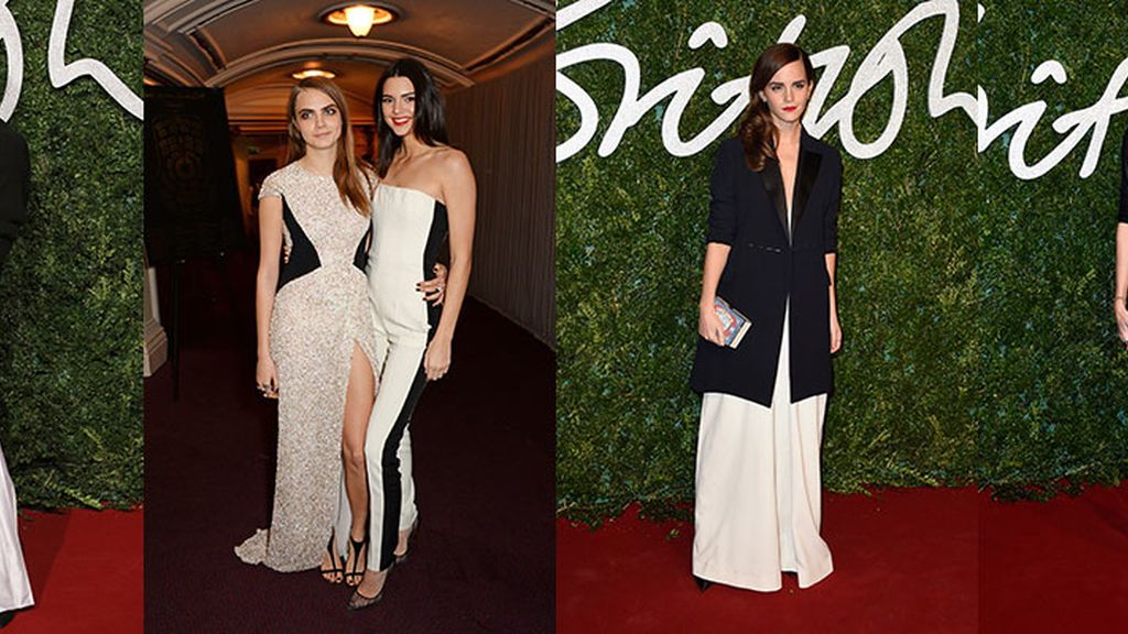 El black&white triunfa en los British Fashion Awards