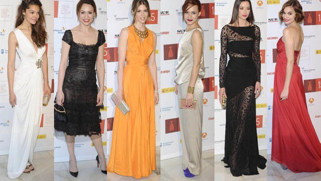 Variedad de vestidos