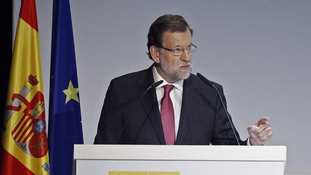 Mariano Rajoy clausura un foro empresarial