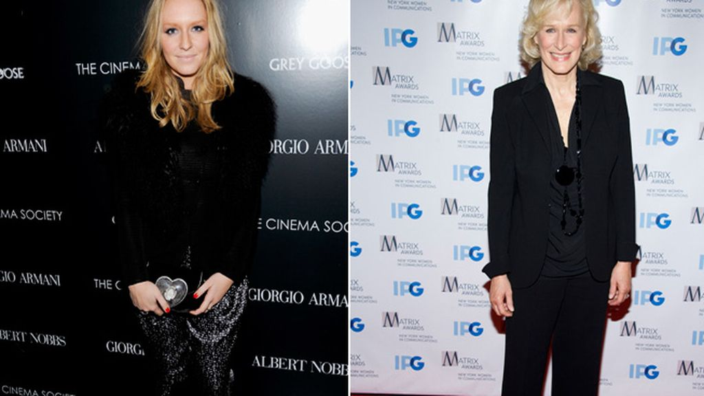 Annie Starke y su madre, Glenn Close