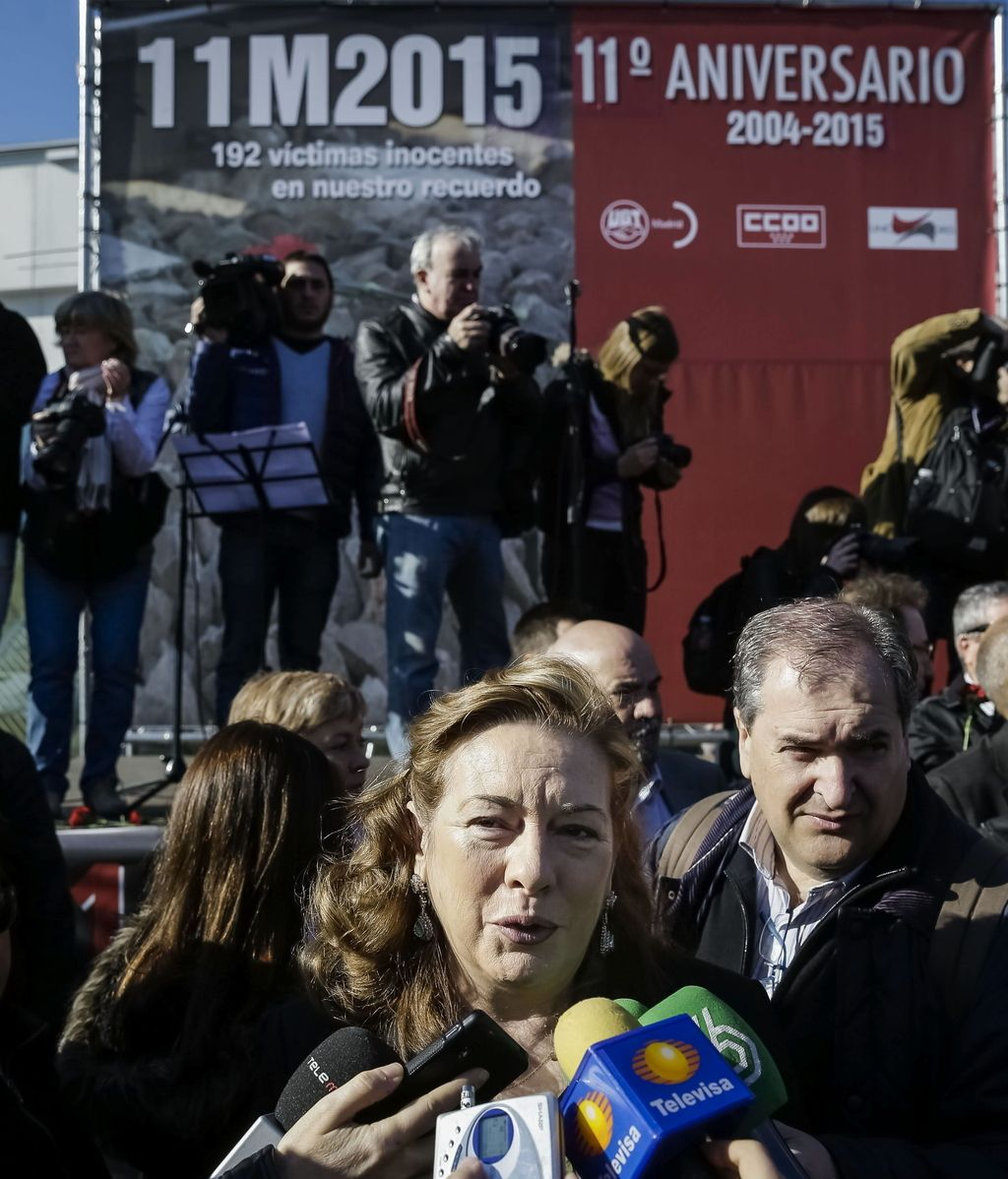 La presidencia de la Asociación 11-M Afectados por el Terrorismo, Pilar Manjón,