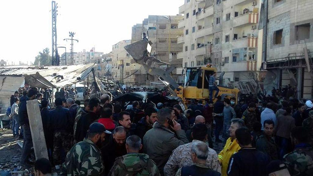 Atentado del Estado Islámico en el barrio damasceno de Al Saida Zainab