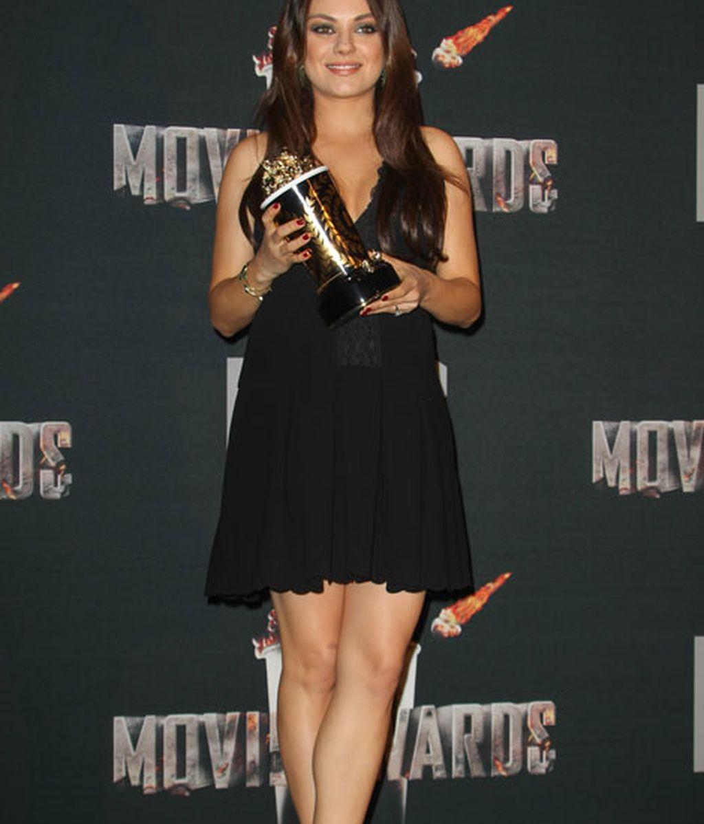 Mila Kunis recibió el premio a 'Mejor Villana'