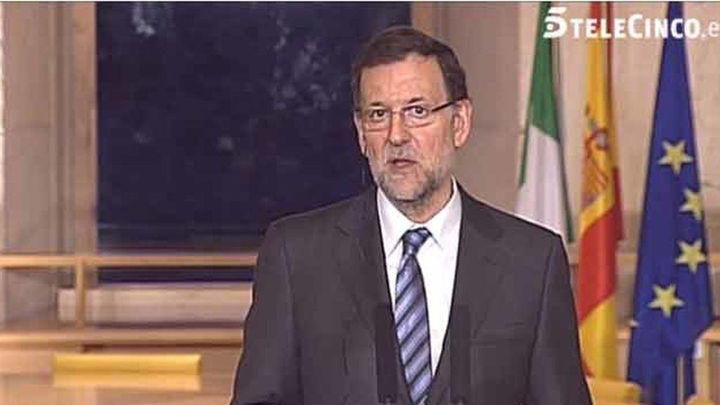 Rueda de prensa Rajoy y Kenny. Foto: telecinco.es