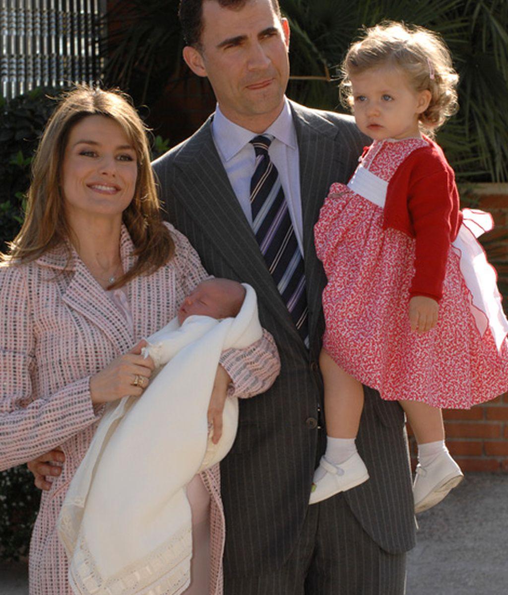 Nacimiento de su segunda hija (abril de 2007)