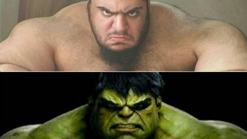 No le enfades: Hulk existe y su nacionalidad es iraní