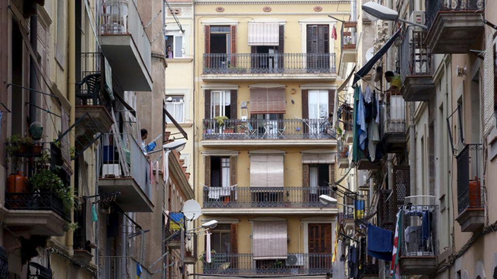 Viviendas en el barrio barcelonés de la barceloneta.