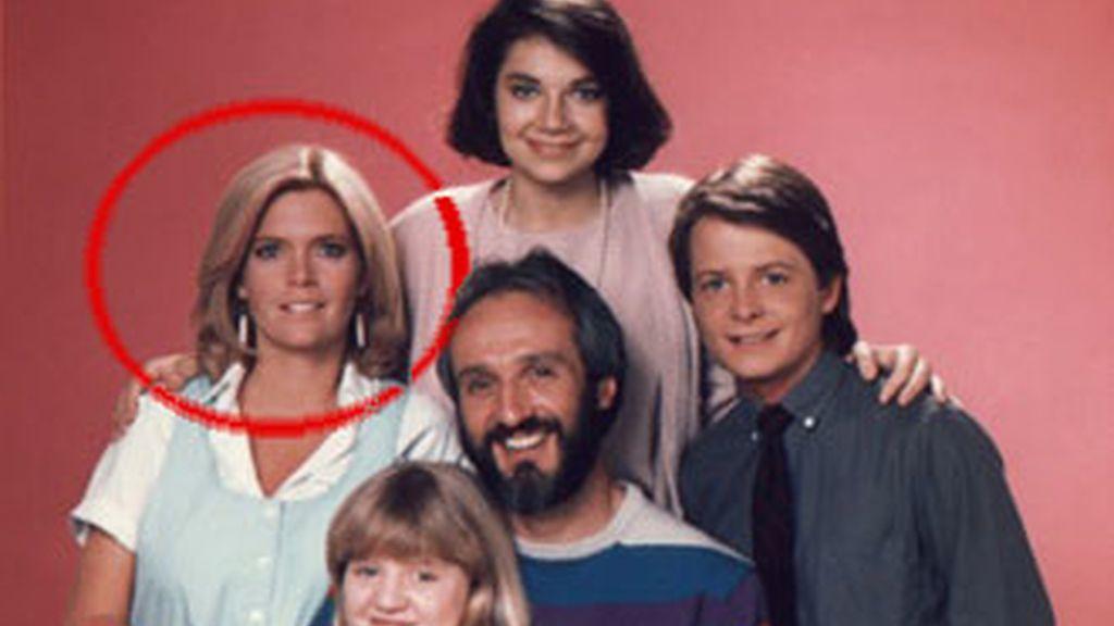 Meredith Baxter en una foto de 'Lazos de familia', la serie estadounidense de los 80 que la hizo famosa.