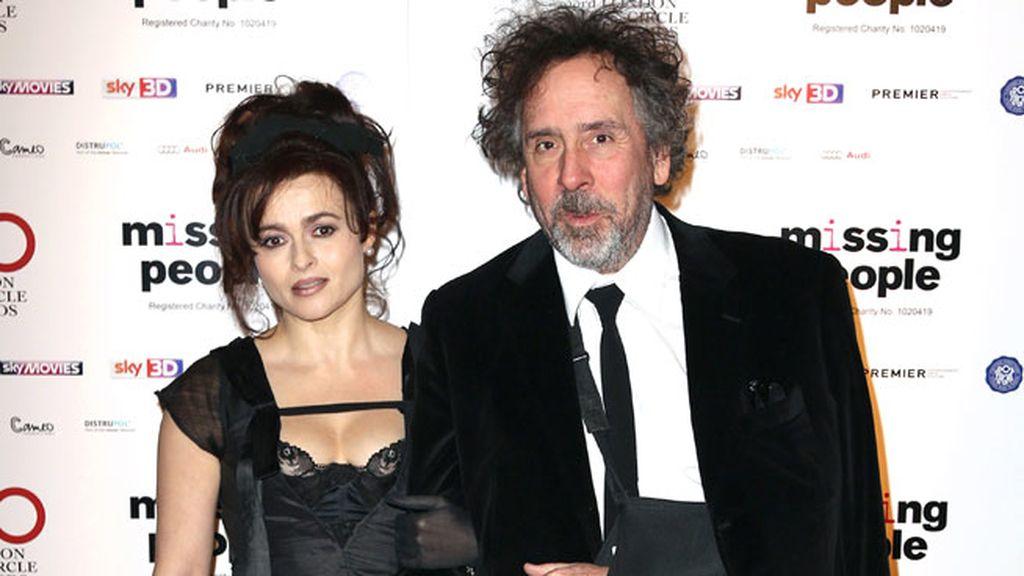 Tim Burton y Helena Bonham Carter, una separación amistosa