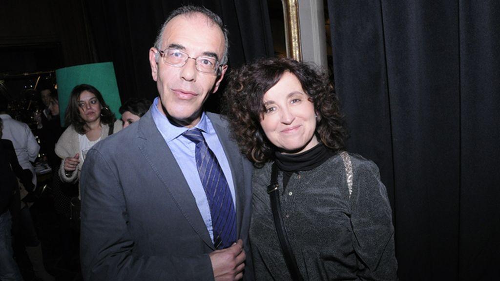 Baldomero Toscano y Olga Florez