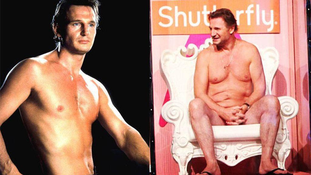Liam Neeson, cómo pasan los años